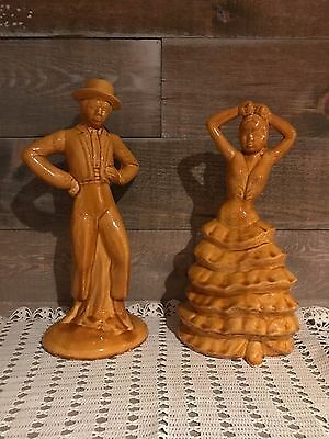 Vintage Flamenco Dancer Figurines