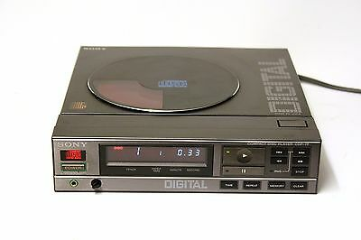 Vintage Early Cd Player - Sony Cdp-7F