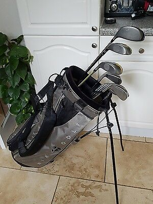 Superb Set Of Nike Golf Clubs & Ping Putter, Right Handed