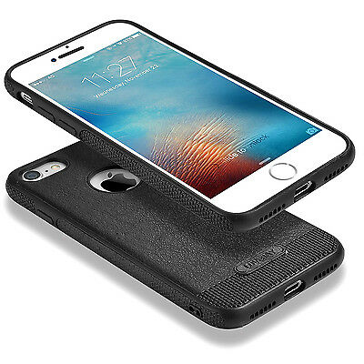 Luxury Ultra-thin Leather Armor TPU Back Case Cover For iPhone 7 & 6S 7 Plus