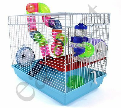 Syrian Dwarf Hamster Gerbil Mouse Small Pet Cage Easipet 617