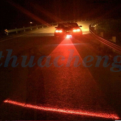 Anti-Collision Cool Car End Rear Tail Fog Driving Laser Caution Light