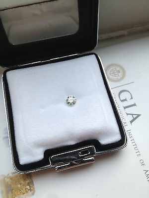 0.50ct Round Brilliant Cut,Faint Blue Si1 Loose Diamond,with Gia Certificate