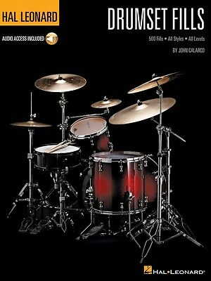 Hal Leonard Drumset Fills - Drum Music Book with Audio Access