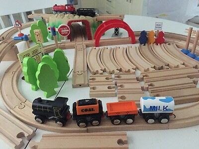 BRIO THOMAS ELC  72 Assorted Train Set Pieces Tunnel Tracks Bridges Accessories