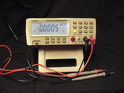 Vichy VC8145 Dual Display Digital Bench Multimeter.