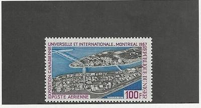 NIGER, SC C 72, 1967 Montreal Expo issue, Airmail. MNH.