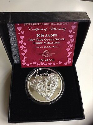Amore Silver shield proof