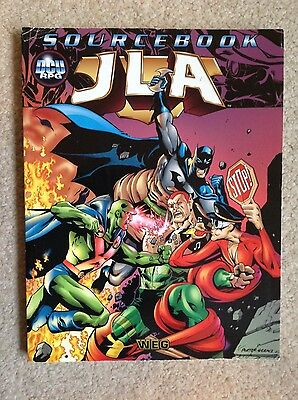 Jla Source Book - Justice League Of America Rule Book - Dcu Rpg
