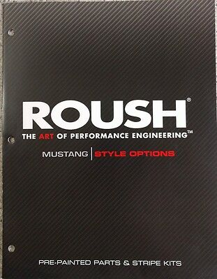 2008 Roush Mustang Style Options Ford Product Manual Brochure 2005 2006 2007