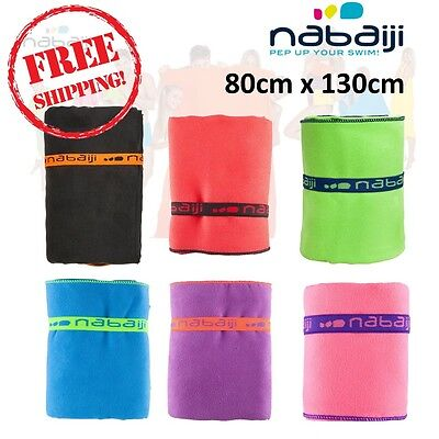 NABAIJI Ultra Compact Light Microfiber Towel 80 X 130 CM, Highly absorbent L