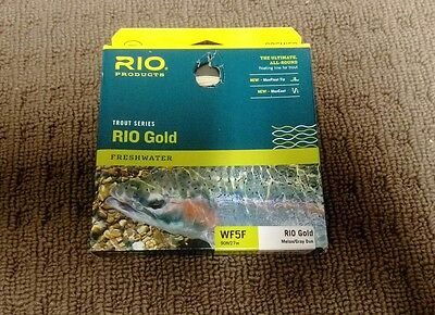 Rio Gold 5wt fly fishing line