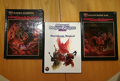 bundle 3 manuali Advanced Dungeons and Dragons