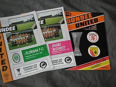 3 Dundee United European Programmes