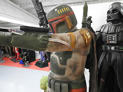 Boba Fett Life Size Star Wars Figure Statue BountyHunter FREE SHIPPING IN EUROPE