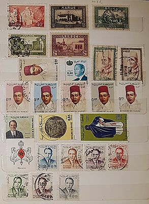 MOROCCO Mixed Unchecked Stamps (No621)