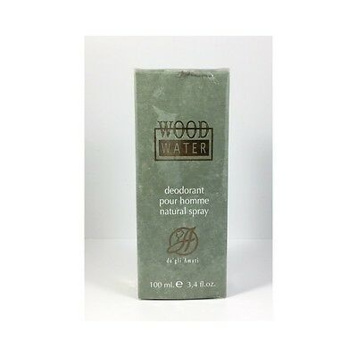 A de gli Amati WOOD Water Deo spray pour homme 100ml