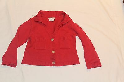Seed baby winter cardigan jacket size 2-3 knitted