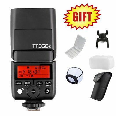 Godox Mini TT350F 2.4G TTL Camera Flash Speedlite for Fuji XT20 XT2 XA1 XT10 XA2