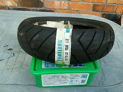120/70x10 scooter tyre 4 ply made by vee rubber free postage
