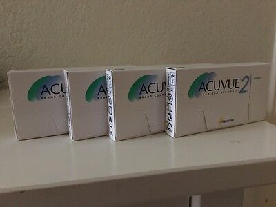 Acuvue 2 bi-weekly (15 days) contact lens, new, still sealed, (6 lens per box)