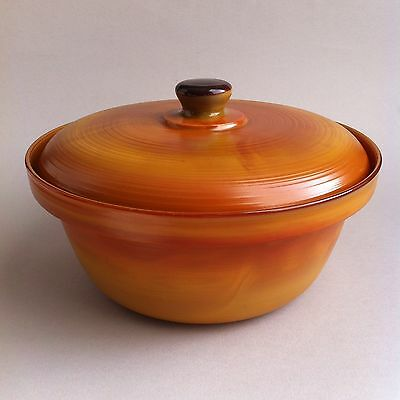 Vintage Arcopal Large 'Volcan' Casserole Serving Dish Oven To Table Retro