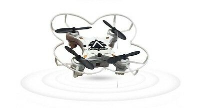 New White Mini Remote Control Four Axis Aircraft Electronic Toy Gift