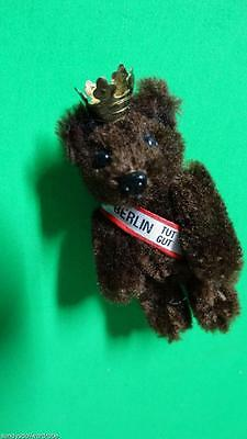 Rare Schuco Berlin Bear Brooch (Pin) 1970