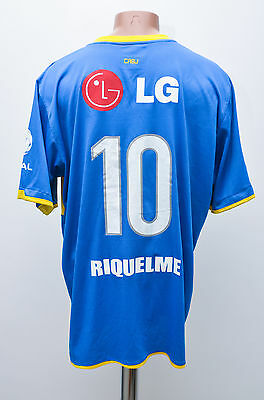Boca Juniors Argentina 2010/2011 Football Shirt Jersey Nike Riquelme #10 Replica
