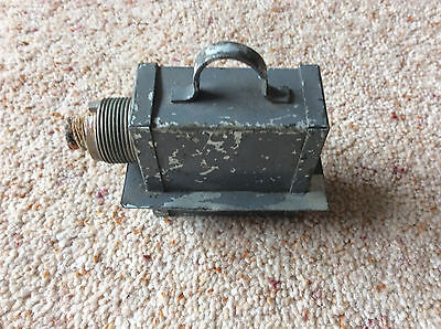 Old Raf Aircraft Radio Plug Part 10H/236