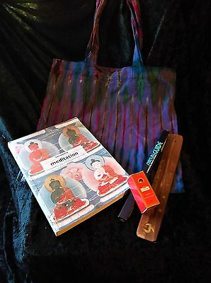 "L@@k!""buddhist Meditation"" New Age Boho Hippie Bargain Grab Bag Lot - Bb07"