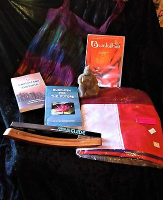 "L@@k!""buddhism"" New Age Boho Hippie Bargain Grab Bag Lot - Bb08"