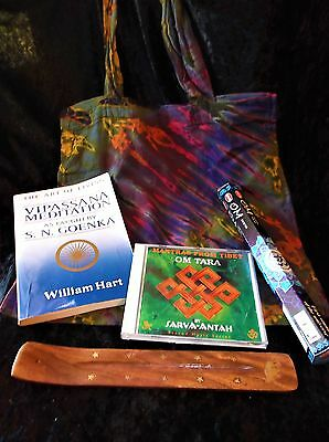 L@@k! Buddhism Meditation New Age Boho Hippie Bargain Grab Bag Lot - Bb01
