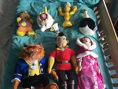 Beauty And The Beast Soft Toys