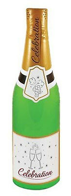 """New30"""" Inflatable Blow Up Celebration Champagne Bottle Hen Stag Party Decoration"""