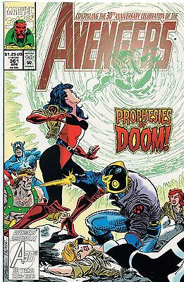 AVENGERS # 361-366 & ANNUAL # 22 nm £7.00 for lot & p&p