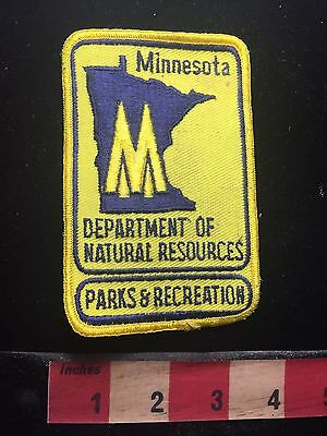 Vtg Minnesota Department Of Natural Resources Parks & Recreation Patch 76WT