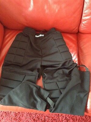 Goalkeeper Padded Bottoms Goalie Pants Trousers Kids Junior Youth Adult