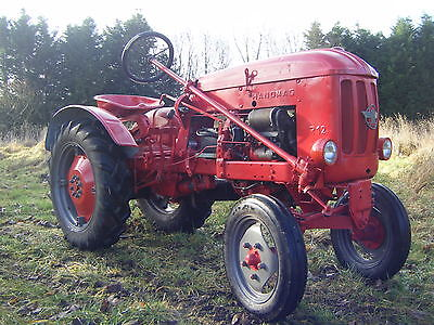 Hanomag R12 akkermoped 2 stroke supercharged diesel mini tractor 1956 classic