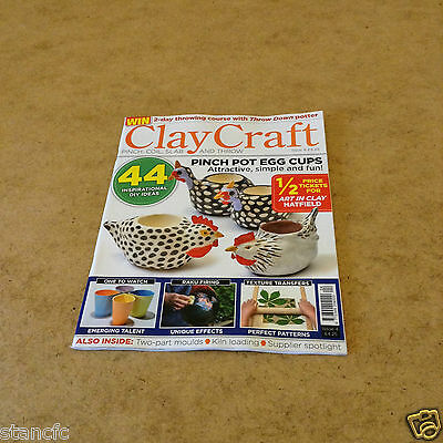 Clay Craft Issue 4 Pinch Coil Slab Throw Simple Ideas News Events Guide & More