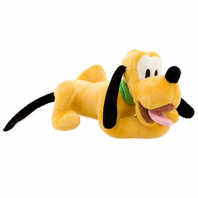 Disney Store Pluto Mini Bean Bag Plush - 9''