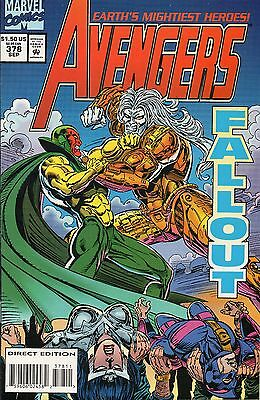 AVENGERS # 378-382, 384 & ANNUAL # 23 nm £7.00 for lot & p&p