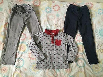 Boys Clothes Bundle 4-5 Years! Jeans, Chino Trousers & Polo Top!!
