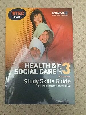 health and social care level 3 Skills Guide
