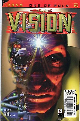 AVENGERS ICONS: THE VISION # 1-4 (2002 mini series) nm £4.00 for lot & p&p