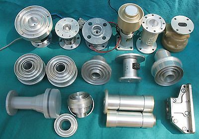 Lot of 22 Feed Horns and Polarizers ( feedhorn polarizer waveguide Hirschmann )