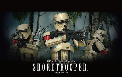 Shoretrooper Modellbausatz 1/12 von Bandai, Star Wars: Rogue One, Scarif Trooper