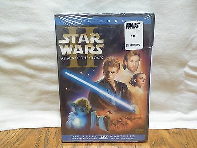 Star Wars Episode II: Attack of the Clones (DVD, 2002, 2-Disc Set, Full Frame S.