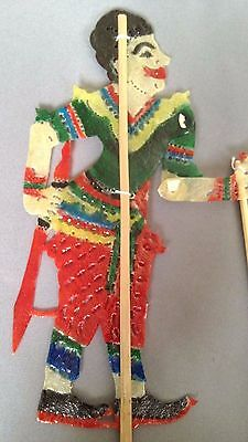Thai crafted Souvenir Collectibles Thailand Cultural Heritage Shadow Puppets