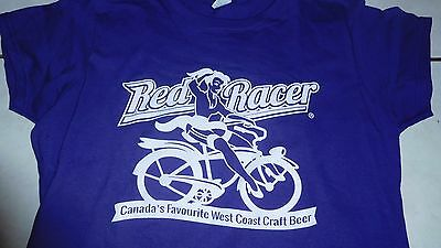Red Racer Flashing Light/key Chain Craft Beer Flashing Light Promo Collector